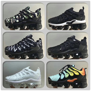 Torna Antrasit Artı Tn Çocuk Koşu ayakkabıları Hız Kırmızı Mavi Beyaz Köpekbalığı Bebek Bebekler Çocuklar Erkekler Kızlar Sneakers Eğitmenler