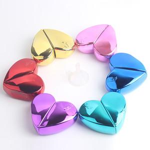 Coeur 25ml Parfums Bouteilles cosmétiques UV verre Vaporisateur vide Mini Perfuma outil Container Livraison gratuite