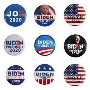10 PC 1 Tronco Parches Bordados para el hierro Parche Ropa para el paño Costura de adornos accesorios etiquetas Biden insignia en la ropa de hierro en P # 11