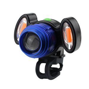 High Brightness 4-level UV 220° Bike Light Cycling Fast USB Charging Waterproof Firmly Front Light Riding Supplies