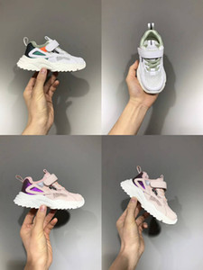 KID летних спортивных кроссовок дизайна одежды младенец мальчика футбол ботинки белой закрытый футбол обувь девочки моды мальчики кожа плоская обуви ес 26-37