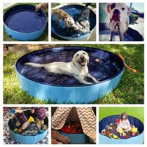Dog Pool Foldable Dog Swimming Pool Pet Bath Swimming Tub Bathtub Pet Collapsible Bathing Pool for Dogs Cats Kids Drop Shipping