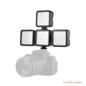 49 Cámara LED Video Panel Light Photo Studio Lights Hot Shoe para Canon Nikon Sony A7 Cámaras DSLR Videocámara