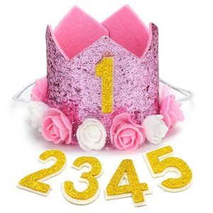 패션 애완 동물 생일 모자 귀여운 장식 조각 크라운 개 생일 모자 애완 동물 파티 모자 크리스마스 생일 파티 헤어 액세서리