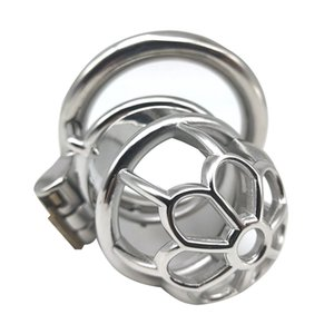 Manga Chastity acero pene metal Cockrings Chastity Device inoxidable Penis la Lck Male Derailed 40/45 / 50mm SM Anillos Qvaqr