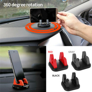 360° Rotating Non Slip Silicone Pad Car Dashboard Mount Holder Stand Cradle Dock for Cell Phone Universal