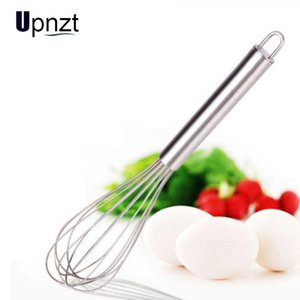 6 8 10 12 Inches Stainless Steel Egg Beater Hand Egg Whisk Mixer Kitchen Cake Cooking Tools Stirring Beater Baking Flour Mixer