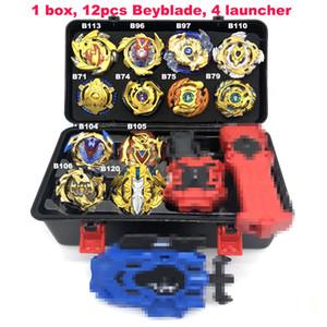 Drop shipping Beyblade Burst Toys set Launcher Starter e Arena Bayblade Metal Fusion God Spinning Top Bey Blade Blades regalo