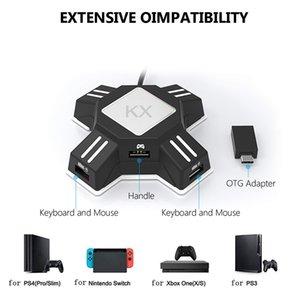Gamepad Controlador Converter for PS4 teclado mouse adaptador para Xbox Um jogo de acessórios, proceda