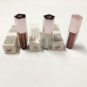brillo labial a prueba de agua resplandor Lipkit pigmento oscuro y dura más tiempo de diamante brillo de labios de las mujeres de maquillaje Lipgloss