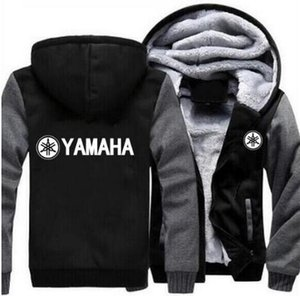 New Yamaha Hoodie Jacket Hooded Winter Pullover Unisex Thickening Wool Fodera in pile Giacca da uomo Logo Toyota Felpa