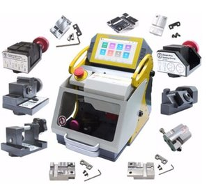 High Quality 2020 full 12 Clamps Original SEC E9 CNC Automatic Key Cutting Machine For Car Keys & House Keys Better Slica I80 Key Maker