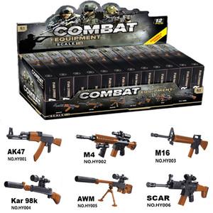 Лучшие продажи новой модели сборка строительных блоков мини-98К игрушечный пистолет снайперская детских образовательных строительные блоки игрушки