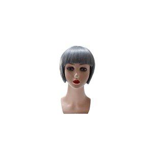 Factory direct sales Qi Liuhai headgear full mechanism headgear real hair