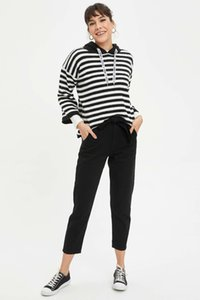 Vestimenta Mulher TrousersL7310AZ20SP de DeFacto Jeans Roupa Mulher TrousersL7310AZ20SP DeFacto Mulheres jeans feminina