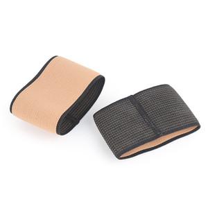 2 piezas Set Arco Deportes vendaje elástico arco de compresión de manga planas hombre y la mujer correcta del pie del cojín del pie Deportes Equipo de Protección