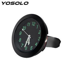YOSOLO Quartz Watch Mechanics Car Air Vent Clip Clock Mini Ornaments Car-Styling Car Decoration For Auto Home Clock