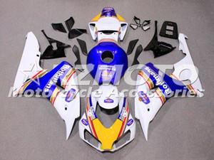 Yeni ABS Kalafatlama Setleri HONDA CBR1000RR için uygun Sıcak satış 2006 2007 06 07 CBR1000RR Kaporta Ücretsiz özel Beyaz Mavi set