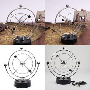 Órbitas astronómicas Instrumento perpetuo Clásico Girar Wiggler magnético con USB Celestial Orbital Pendulum Nueva llegada 14 21jl2 L1