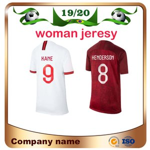 2019 Coupe du Monde Femmes Soccer Jersey 19/20 Accueil Whirt KANE DELE Fille Maillot De Football HENDERSON VARDY LINGARD Football uniforme