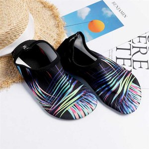 2020 Swim diving surfing fits water shoes Non-slip Snorkeling Seaside soft Beach Shoes Swimming kids women men Quick dry