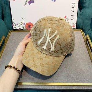 2018 Baseball Cap NY Bordados Carta chapéus de sol ajustável Hip Hop Dance Snapback Hat Verão ao ar livre Homens Mulheres frete grátis