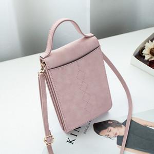 Mobile phone bag women's messenger bag 2020 new Korean version of mobile phone small coin purse