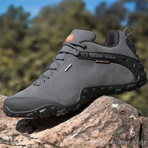 XIANGGUAN 81285 Klettern Herren Designer Laufschuhe Herren Trekking Outdoor Mann Laufen Sport Turnschuhe Reisen Wildleder Kalbsleder Xiang Guan Schuhe
