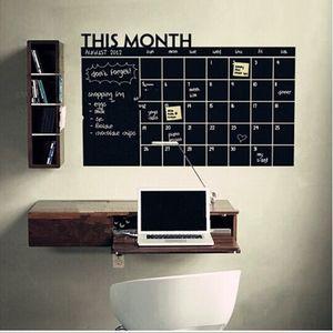 24 خطة شهر التقويم السبورة السبورة الفينيل الجدار ملصق مكتب العائلة هذا الشهر التقويم السبورة الجدار ملصق