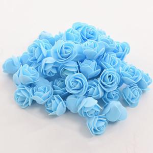 Urso Rose Flor Simulação Foam Rose Romantic flor do presente do dia dos namorados Wedding Party DIY bolha cão urso pe diy flor LJJK1944