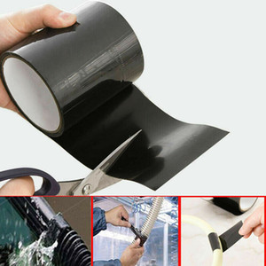Black Rubber Silicone Repair Waterproof Bonding Tape Rescue Self Fusing 1PC Electrical Tape