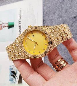 luxury mens watches diamond automatic womens big watch All stainless steel swimming watch Super luminous orologi da uomo di marca di lusso