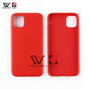 Meilleur prix doux TPU silicone liquide Téléphone cellulaire cas pour l'iPhone 6 7 8 X 11 Pro Max