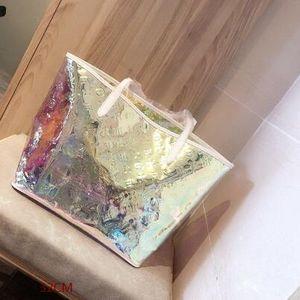 Fantasy shopping bag capacidade de mudança de cor também é super grande a qualquer momento em qualquer lugar pode levar o tamanho de 32CM