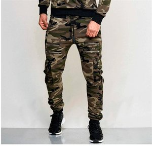 Mens Trousers Fashion Camouflage Colors Loose Pants Sports Pencil Pantalones Jogger Male Sweatpants Slim Fit 2020ss