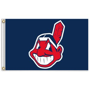 Cleveland ben n i n s Takım Bayrak 150cm * 90cm 3X5FT Polyester Özel Herhangi Banner beyzbol Spor Bayrak ev bahçe outdoor uçan d