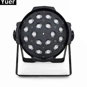 2019 Yeni Par Işıkları 18X10 W 4IN1 RGBW LED Yakınlaştırma Par Işıkları Disko Lamba Sahne Işıkları Luces Discoteca Lazer Işını Luz de Projektör