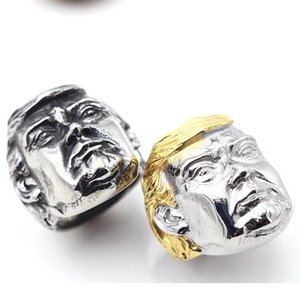 Fashion Rings Cool Men 316L Stainless Steel Ring Titanium Steel Man Finger White Gold Men Ring Jewelry Size 7-15