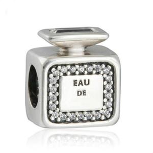 Nouvelle Signature Parfum Bouteille De Parfum Charmes Perle Authentique 925 Perles En Argent Sterling Pour La Fabrication de Bijoux BRICOLAGE Charme Bracelets Accessoires