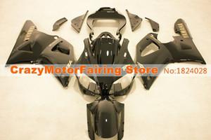 4Regalos Nuevo Molde de compresión ABS Motocicleta Kits de carenados de plástico aptos para YAMAHA YZF-R1-1000 1998-1999 98 99 Juego de carrocería de carenado negro