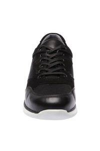 Pearl Genuine Leather Black Men 'S Shoes 120130002235