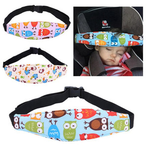 Fastening Pram Belt Adjustable Baby Stroller Head Support Pad Pillow Kids Car Seat Safety Sleep Positioner Stroller Accessories DW5543