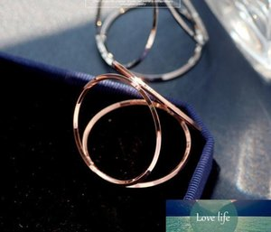 Three Circles Simple Napkin Rings Circle Buckle Rose Gold Silver Gold Napkin Rings Wedding Party Table Decorative Napkin Rings