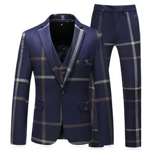 Büyük pliad onay takım elbise erkek iş rahat kostüm homme sur mesure damat erkek takım elbise ince uygun sigara uomo 5XL smokin