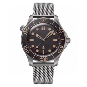 2020 Mens Watch Diver 300M 007 Edição Mestre Planeta 600m Co Axial Automático Mecânica Movimento Homens relógios em aço Correia Esportes Relógios de pulso