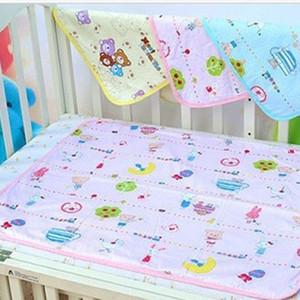 유아 아기 유아 소변 매트 방수 변경 귀여운 패드 커버 변경 홈 침대 기저귀 기저귀 작은 크기 34x43cm