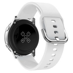 Silikon-Sport-Armband 20mm für Samsung Galaxy Uhr Aktive 42mm Huami Amazfit bip Garmin Huawei Zahnrad S2 Armband Strap Band