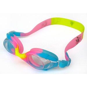 Mounchain Дети Ясно Плавание Очки Anti-Fog Мягкий силиконовый Водонепроницаемый плавательные очки