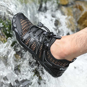 Men Barefoot Aqua Shoes Diving Swimming Water Shoes Upstream Sneakers Outdoor Sport Wading Breathable Beach Footwear