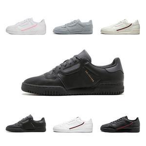 adidas 2019 Calabasas Powerphase Gri Continental 80 Rahat ayakkabılar yeşil gri Çekirdek siyah beyaz gri kadın erkek Açık Trainer Spor Sneakers 36-45